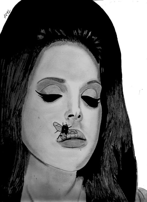 Lana Del Rey by AmelDraws